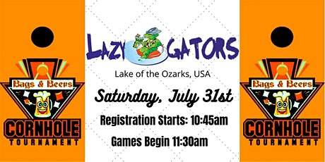 'Bags and Beers III' Cornhole Tournament at Lazy Gators tickets