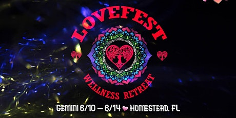 Lovefest Wellness Retreat comes H'OM tickets
