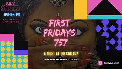First Fridays 757 tickets