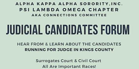 Judicial Candidates Forum tickets