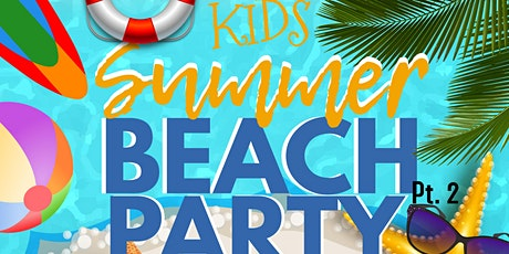 Kids Summer Beach Party tickets