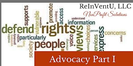 Advocacy Part I (Florida Continuing Education  Units) tickets