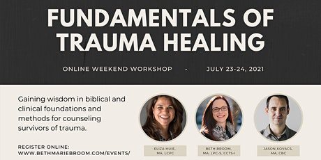 Fundamentals of Trauma Healing: Weekend Workshop tickets