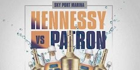 hennessy vs patron yacht tickets