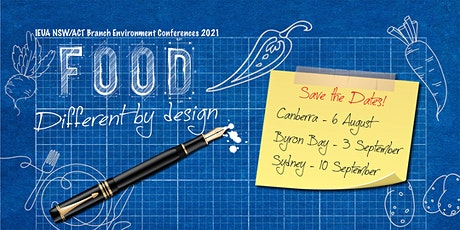 Canberra - IEU 2021 Environment Conference: Food Different by Design tickets