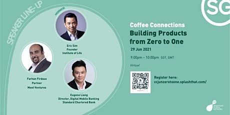 Coffee Connections | Building Products from Zero to One tickets
