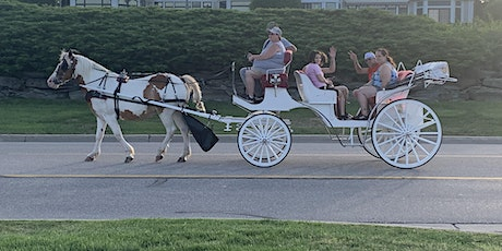 Horse drawn carriage ride down the Thomas Edison Parkway tickets