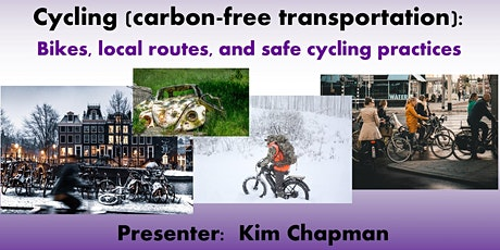 Cycling (carbon-free transportation): Bikes, local routes, and safe cycling tickets