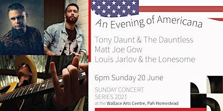 SCS Americana: Tony Daunt & The Dauntless / Matt Joe Gow / Louis Jarlov tickets