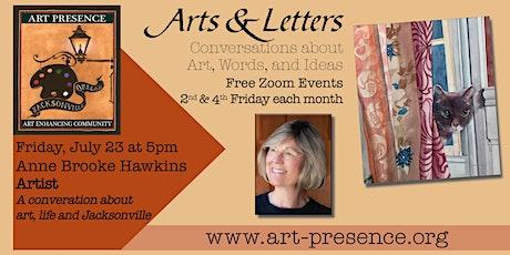 Artist and teacher Anne Brooke in conversation with Ginna Gordon tickets