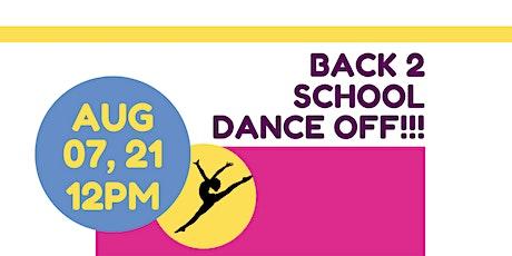 Back 2 School Dance Off ( Team Registration) tickets