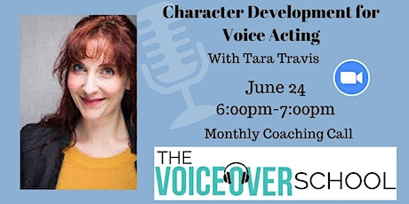 Character Development for Voice Acting with Tara Travis tickets