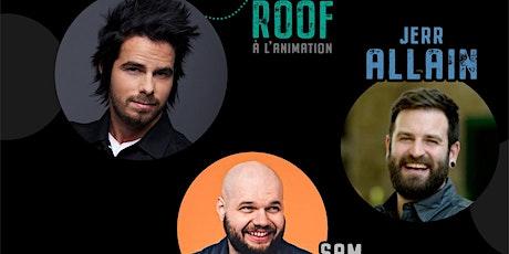 Soirée d'humour animé par Alex Roof du Resto-Pub BoulZeye! tickets