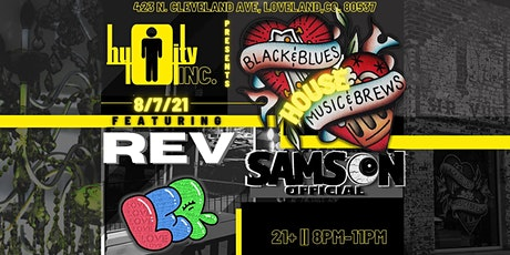 Samson Official at Black and Blues Music and Brews tickets