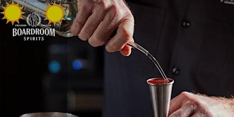 Boardroom Spirits - Summer Cocktail Workshop Menu tickets