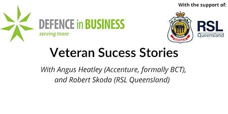 DiB: Veteran Success Stories tickets