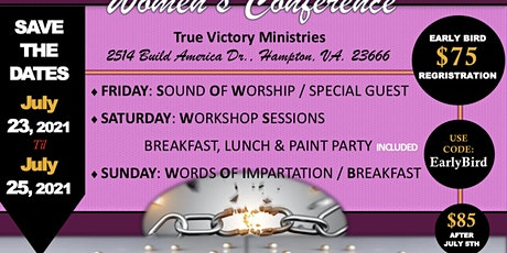 Transitioning From Chains to Pearls Women's Conference tickets