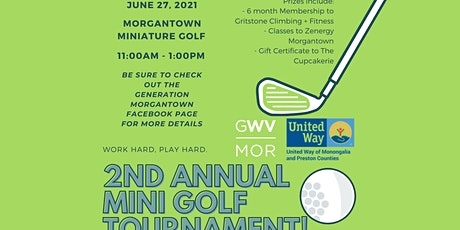 Mini Golf Tournament presented by GenMo and United Way of Mon and Preston tickets