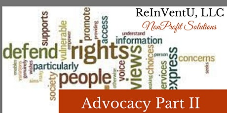 Advocacy Part II (Florida Continuing  Education Units) tickets