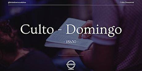 Culto Domingo - Santa Ceia ingressos