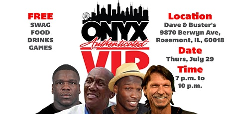 Onyx Authenticated VIP Event tickets