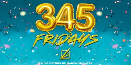 3 4 5 Fridays @ Liquid tickets