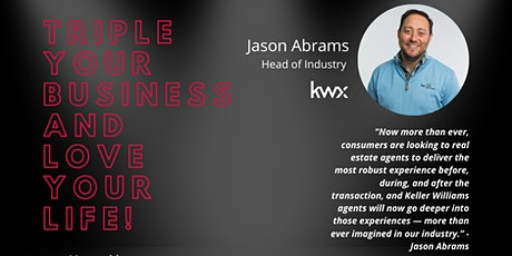 Triple Your Business and Love Your Life with Jason Abrams tickets
