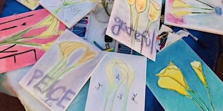Meditation On A Flower Art Workshop tickets
