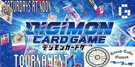 Digimon The Card Game Standard Tournaments  2021 tickets
