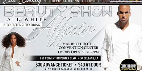 Elite Beauty All White tickets