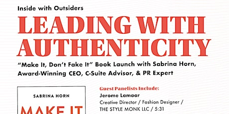 Inside with Outsiders: Leading With Authenticity tickets