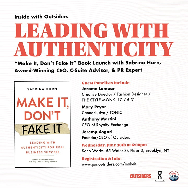 Inside with Outsiders: Leading With Authenticity image