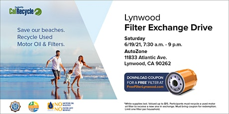 Lynwood Filter Exchange Drive tickets