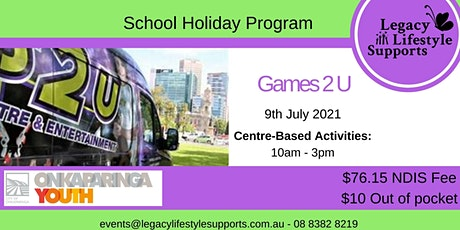 Active Options ''Games2U'' tickets