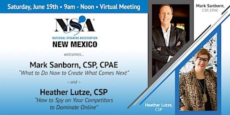NSA-NM June 19, 2021 Meeting tickets