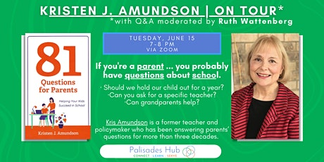 81 Questions for Parents: Helping Your Kids Succeed in School, Part 1 tickets