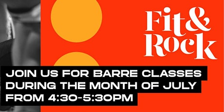Fit + Rock Series - Pure Barre  at Dairy Block tickets
