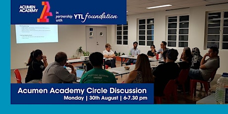 Acumen Academy Circle Discussion- Partner with Humility & Audacity biglietti