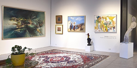 CONTEMPORARY + MODERN FINE ART AUCTION PREVIEW tickets