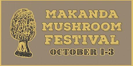Makanda Mushroom Festival - October 1-3, 2021 tickets