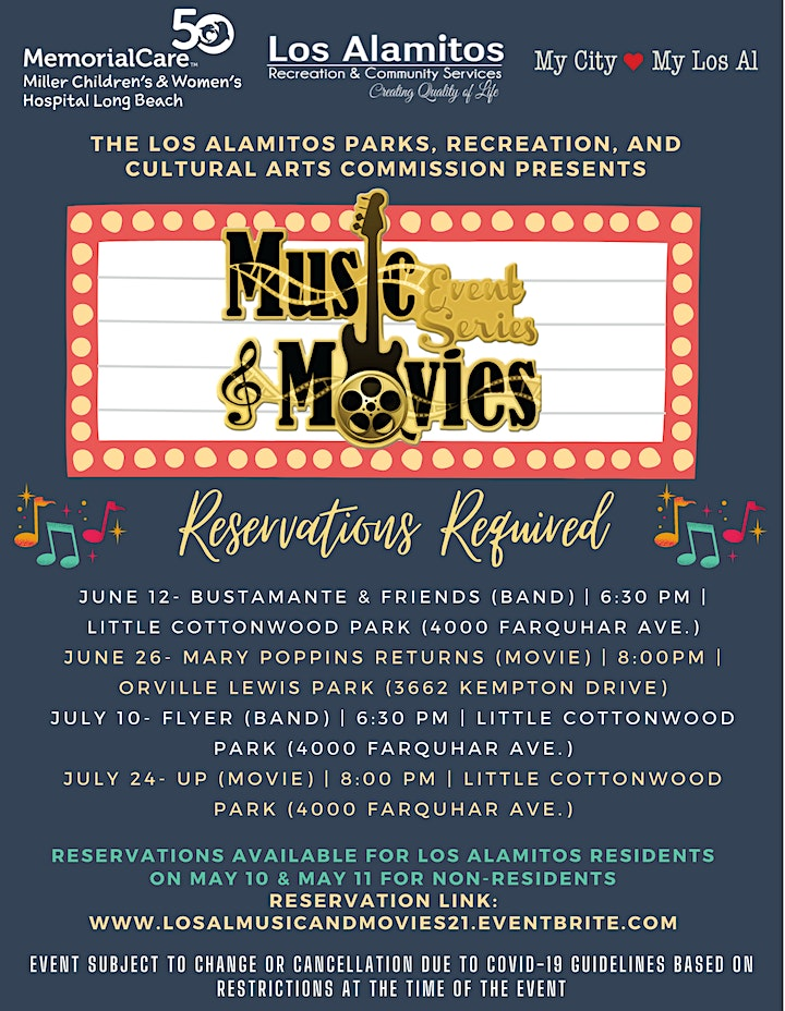 Music and Movies Event Series image