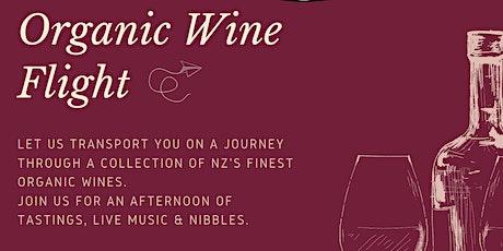 Organic Wine Flight tickets