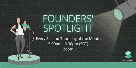 Founder's Spotlight (Network with startups founders and mentors) tickets