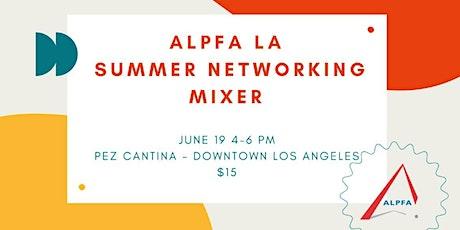 ALPFA LA  Summer Networking Mixer tickets