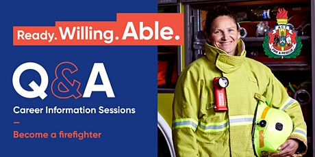 ACT Fire & Rescue - Q&A Session (2021 Recruitment) tickets