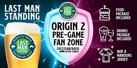 State of Origin Game II - Last Man Standing Pre-Game Lounge tickets