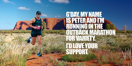 Outback Marathon fundraiser for Variety by Peter Glover tickets