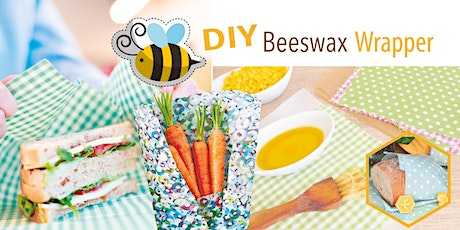 DIY Beeswax wrapper for Plastic Free July tickets