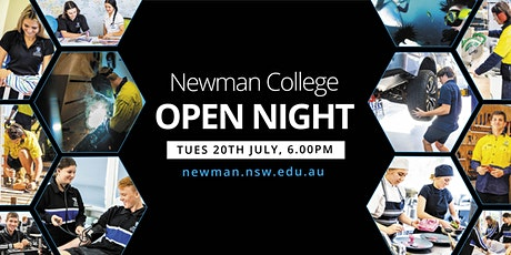Newman College - OPEN NIGHT for 2022 Year 11 Enrolments tickets