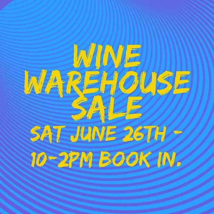 WAREHOUSE SALE - EOFY Wine Sale image